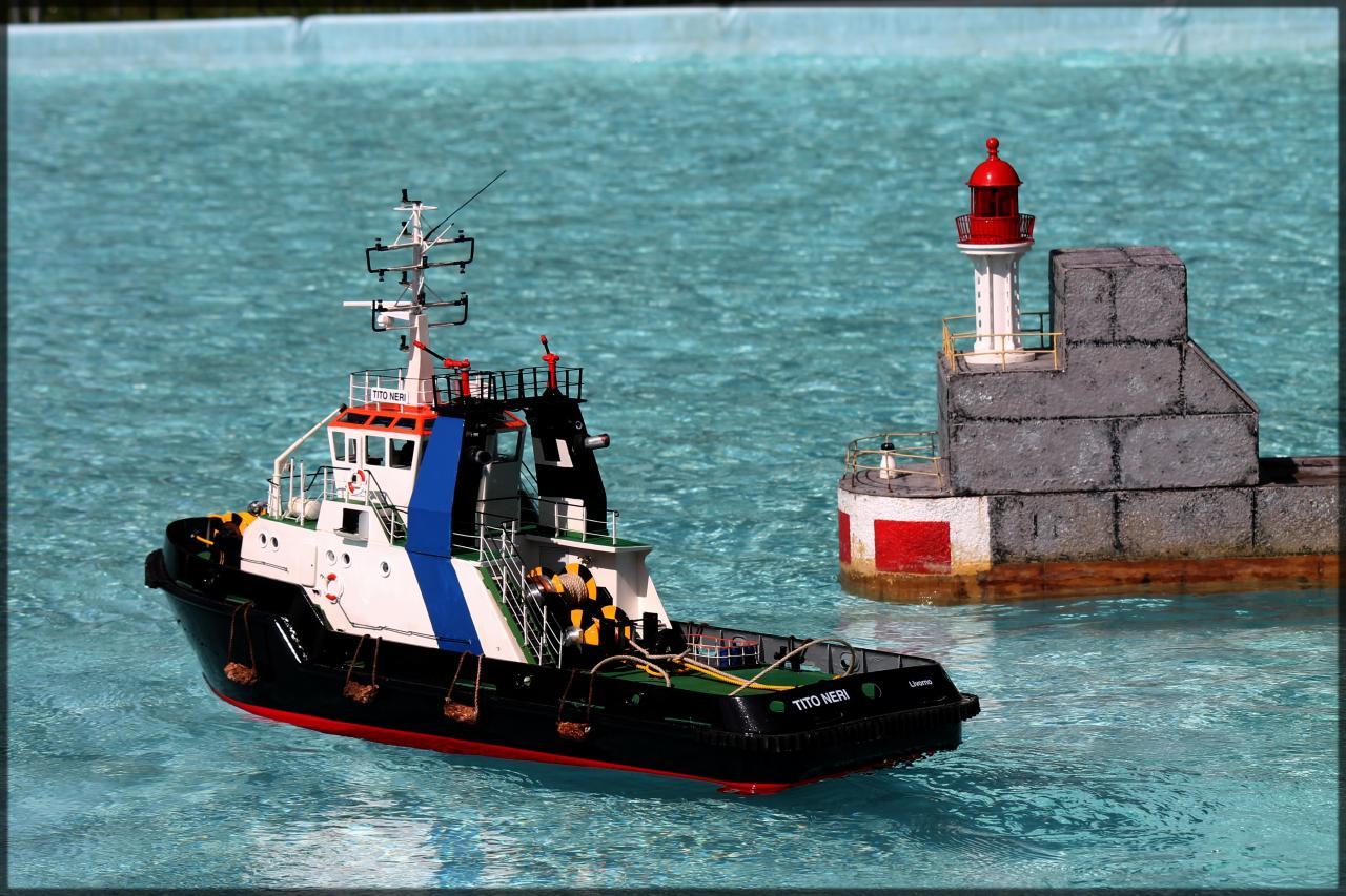 Tito au port