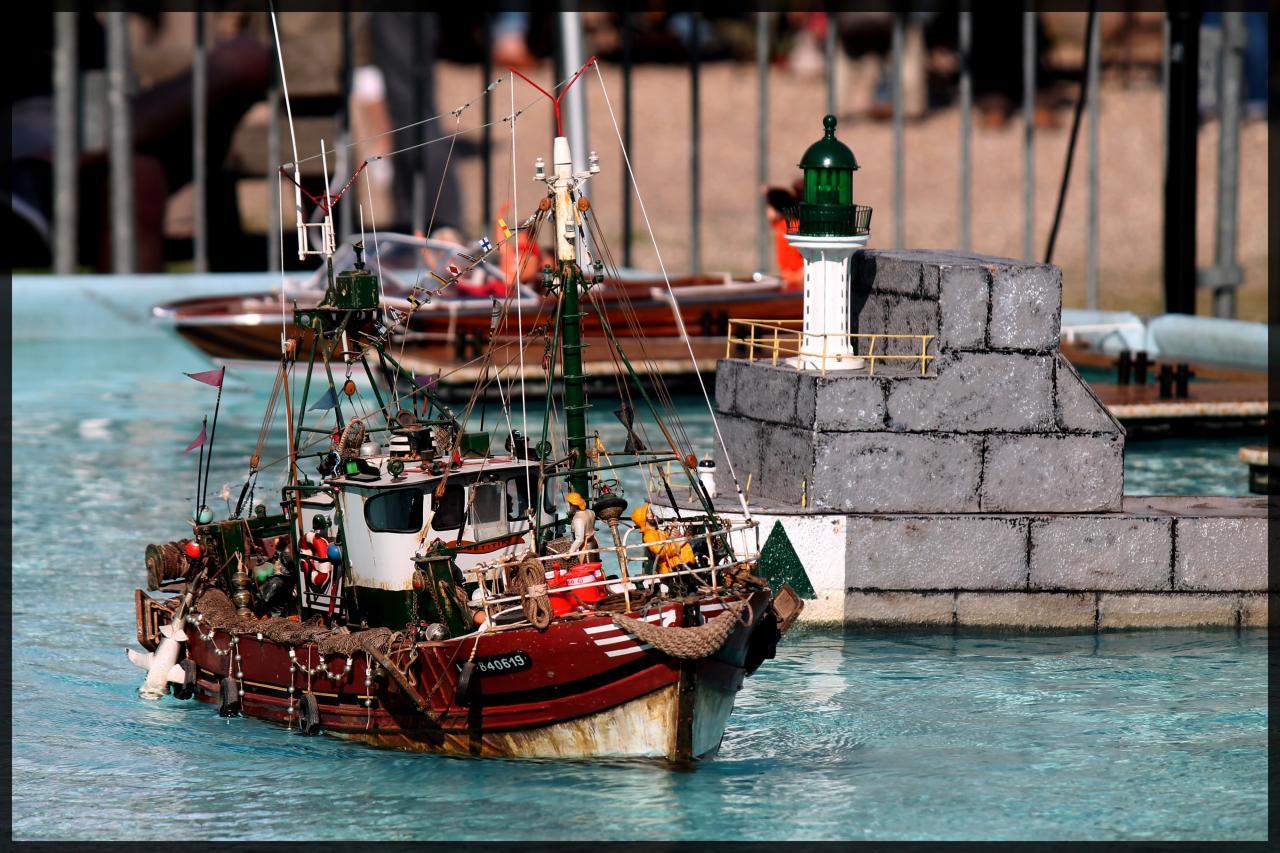 Le Laetitia qui rentre au port